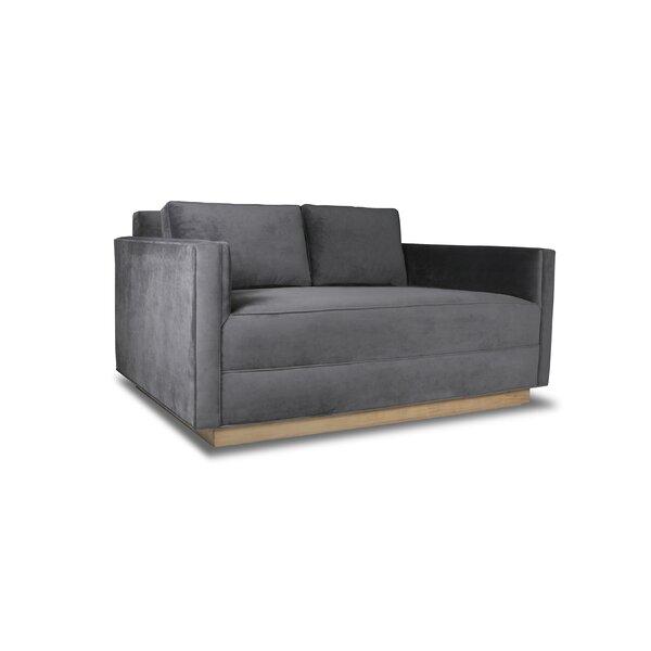 Picariello Plush Deep Sofa by Orren Ellis