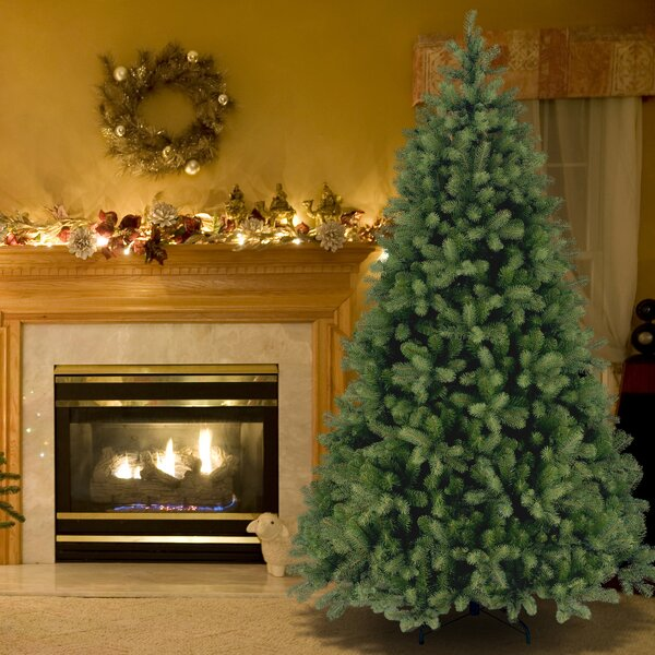 Downswept Douglas 7.5 Green Fir Artificial Christmas Tree and Stand by Beachcrest Home