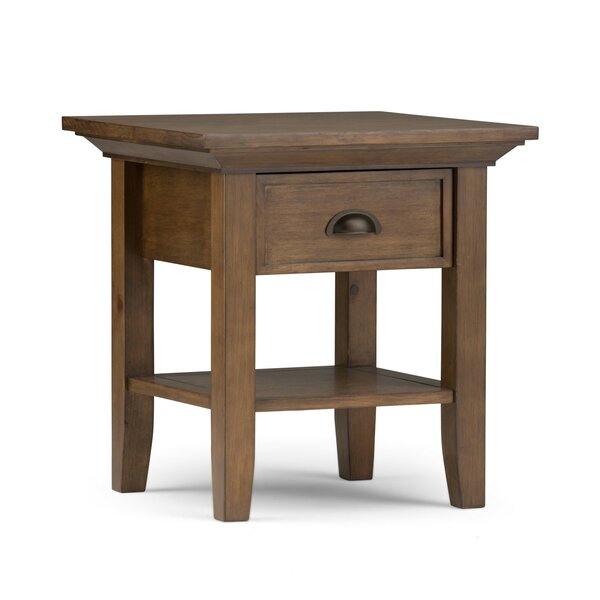 Amatury End Table by Alcott Hill