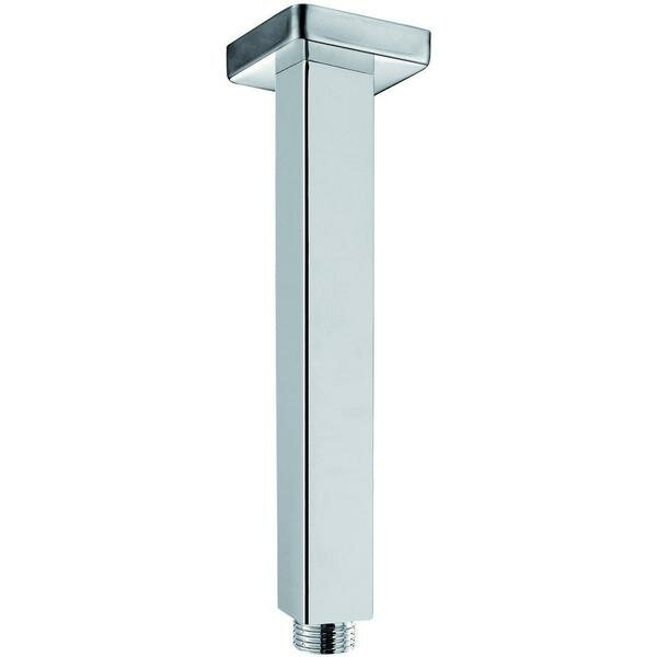 Brass Ceiling Mounted Square Rod Shower Arm by AGM Home Store