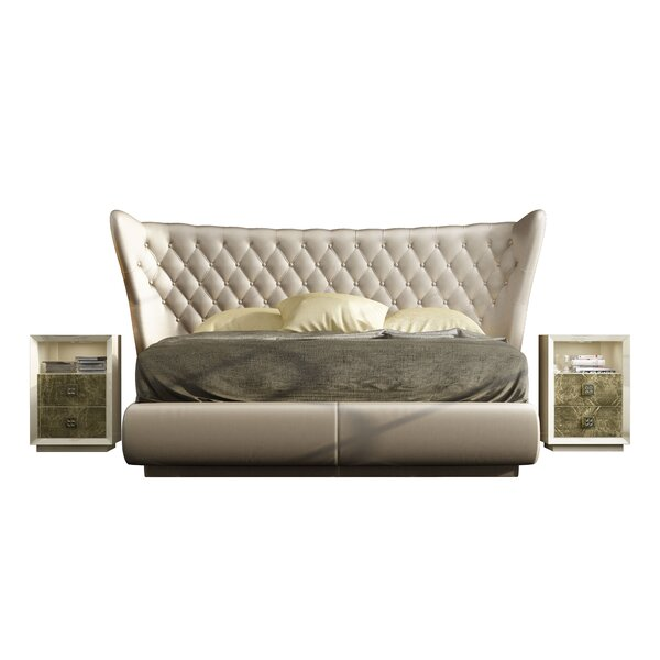 Jerri King 3 Piece Bedroom Set by Everly Quinn