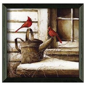 'Waiting on Spring' Framed Photo Graphic Print on Paper by August Grove