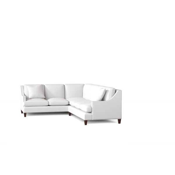 L-Shaped Sectional By Wayfair Custom Upholstery™