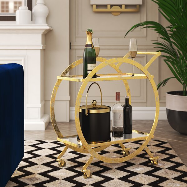Tryphosa Bar Cart by Willa Arlo Interiors