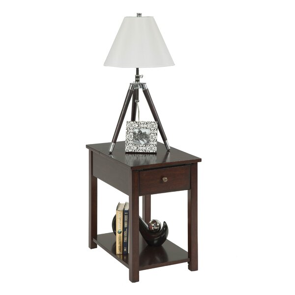 Chairside End Table by Progressive Furniture Inc.