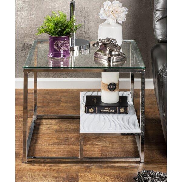 Saniya Frame End Table By Wade Logan