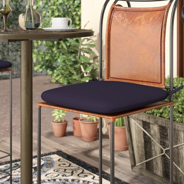 Indoor/Outdoor Barstool Cushion by Charlton Home