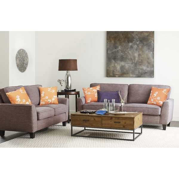 Astoria 2 Piece Living Room Set by Serta at Home