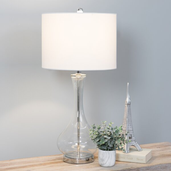 Andre Glass 29 Table Lamp by Langley Street