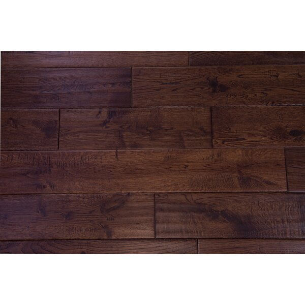 Thames 5 Solid Oak Hardwood Flooring in Mocha by Branton Flooring Collection