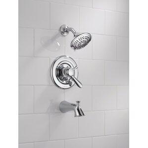 lahara roman tub faucet. Lahara Tub and Shower Faucet Trim with Lever Handles Monitor Delta  Wayfair