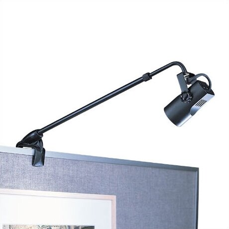 Adjustable Clamp 1-Light Frame Mounted Picture Light by WAC Lighting