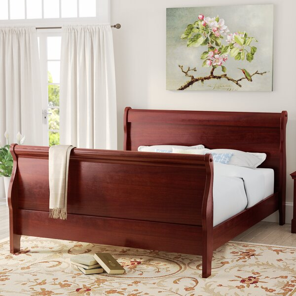 Tina Contemporary Sleigh Bed by Laurel Foundry Modern Farmhouse