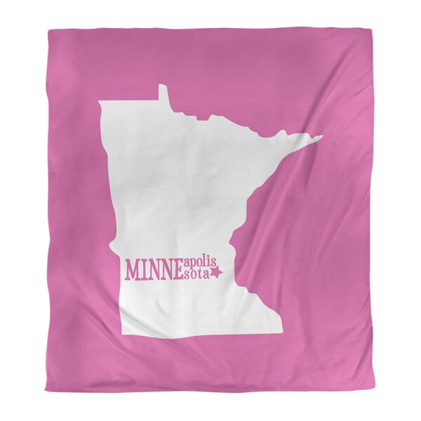 Minnesota Minneapolis Single Duvet Cover