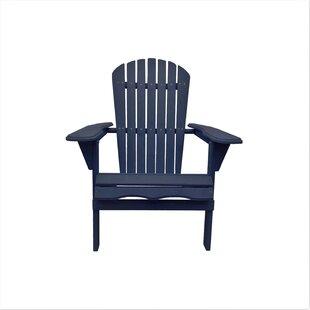 Charming Navy Blue Adirondack Chair   Wayfair