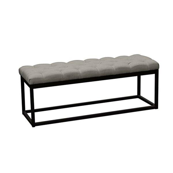 Tegan Button Tufted Upholstered Bench by Brayden Studio