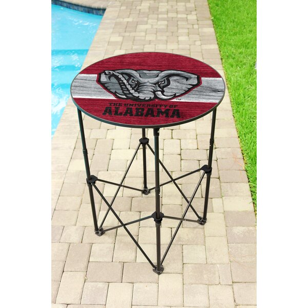 NCAA Round Folding Table by Wild Sports