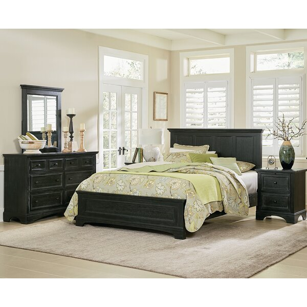 Bunbury Standard 5 Piece Bedroom Set by Charlton Home