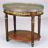 Rochele Hand-Painted Coffee Table with Tray Top by Astoria Grand