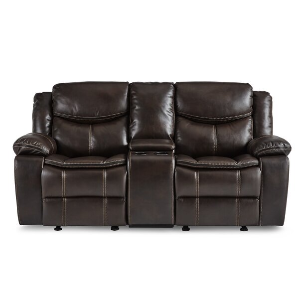 Chic Style Matherne Reclining Loveseat by Winston Porter by Winston Porter