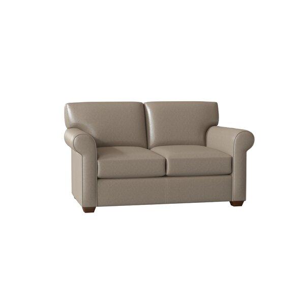 Rachel Leather Loveseat By Wayfair Custom Upholstery™