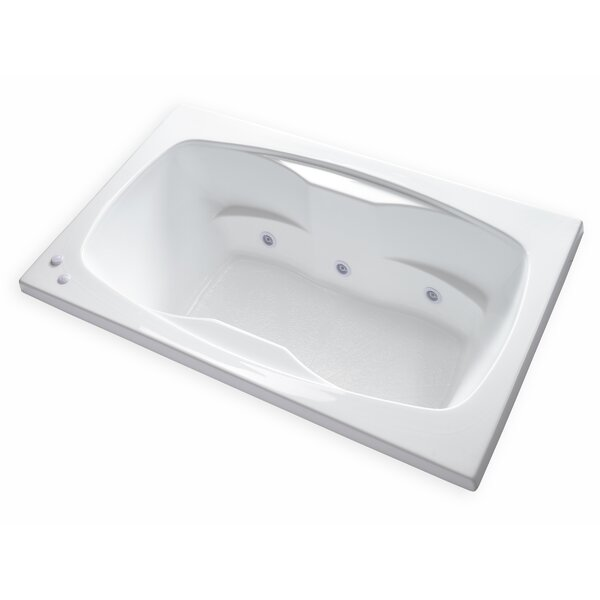 Hygienic Aqua Massage 60 x 42 Whirlpool Bathtub by Carver Tubs