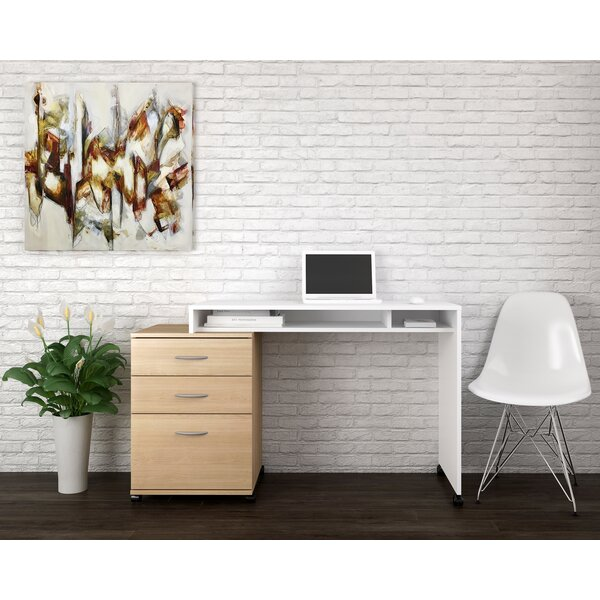 Kylen 2 Piece Desk Office Suite