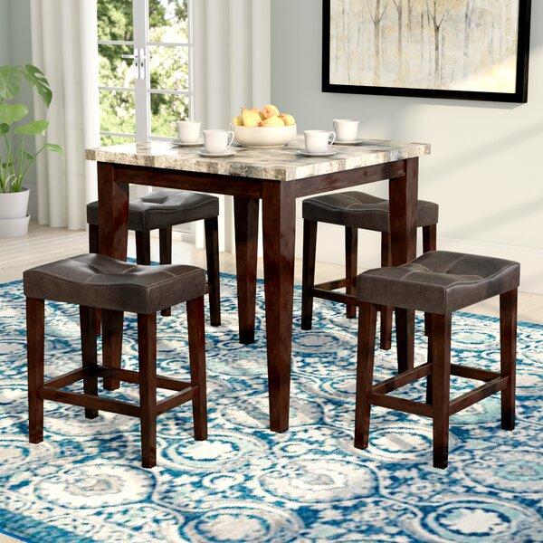 Aldama 5 Piece Pub Table Set by Andover Mills