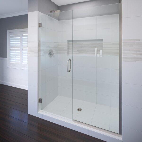 Celesta 59 x 72 Hinged Adjustable Door and Panel Shower Door by Basco