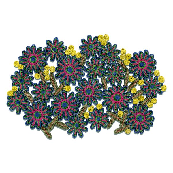 Florigraphie Passiflora Straw Table Mat by Seletti
