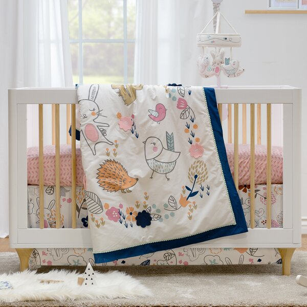 Stella 4 Piece Crib Bedding Set by Lolli Living