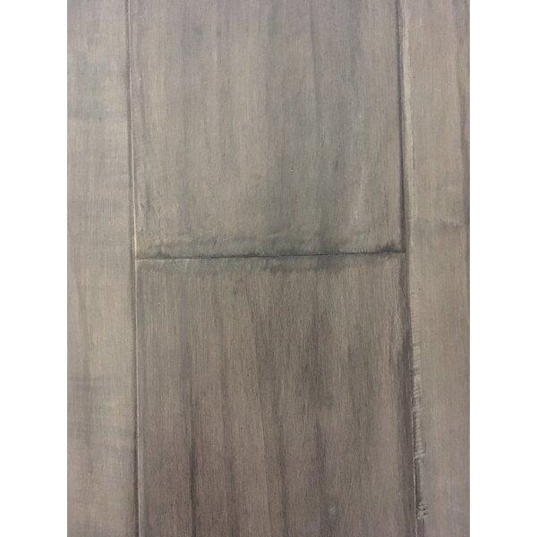 Rome 7.5 Engineered Maple Hardwood Flooring in Peewter Gray by Dekorman