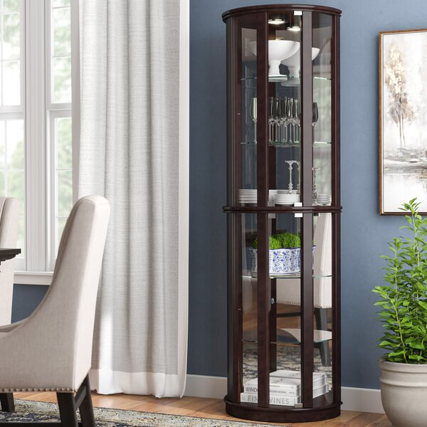 Hygge Lighted China Cabinet by Rachael Ray Home