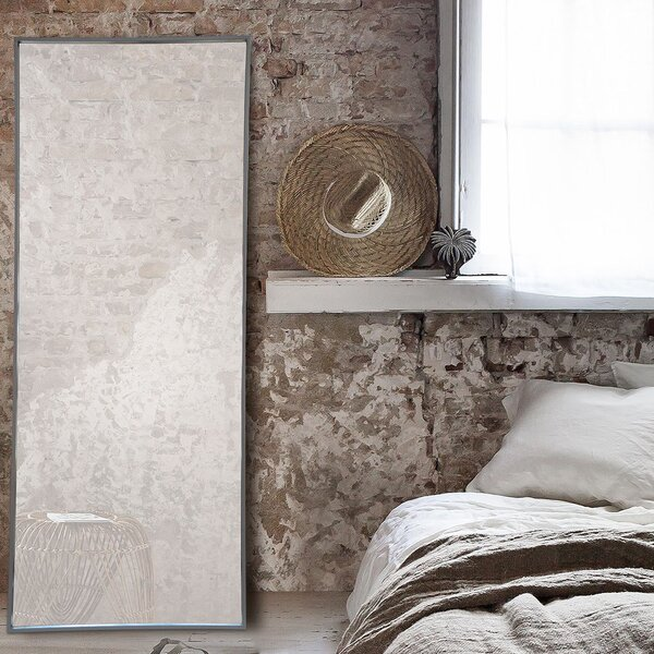 Tore Framed Rectangular Full Length Wall Mirror by Ren-Wil