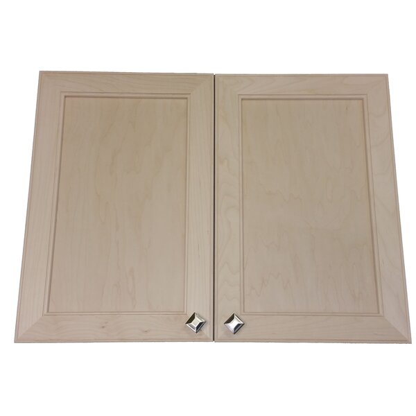 Village 31 x 35.5  Wall Mounted Cabinet by WG Wood Products