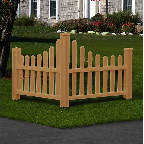 2.5 ft. H x 4 ft. W Country Fence Panel by New England Arbors