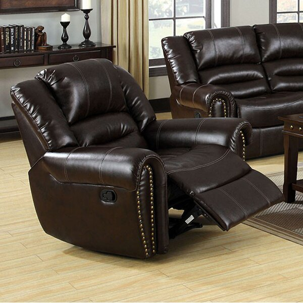 Apsel Transitional Manual Recliner by Darby Home Co