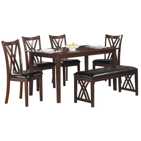 Kaylani 6 Piece Dining Set by Winston Porter