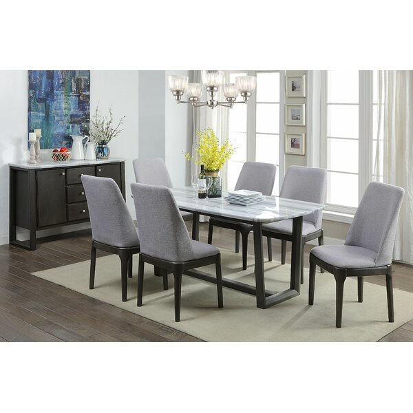 Beckles 7 Piece Dining Set by Brayden Studio