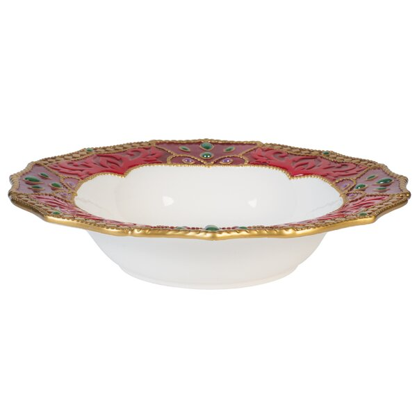 Renaissance Holiday Serving Bowl by Fitz and Floyd