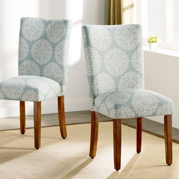 Waverly  Upholstered Dining Chair (Set of 2) by Three Posts