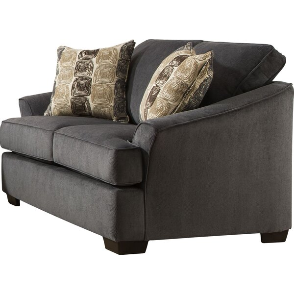 Simmons Upholstery Athena Outlaw Loveseat by Red Barrel Studio