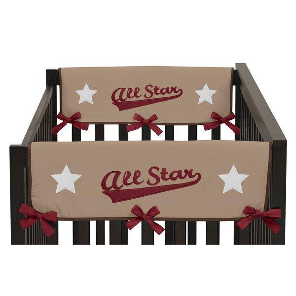 All Star Sports Side Crib Rail Guard Cover (Set of 2) by Sweet Jojo Designs
