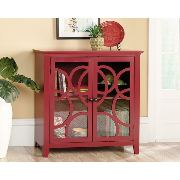 Dingler 2 Door Square Accent Cabinet by Highland Dunes Highland Dunes