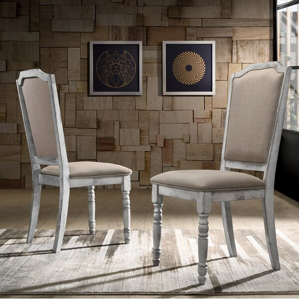 Mariposa Upholstered Dining Chair (Set of 2) by Ophelia & Co.