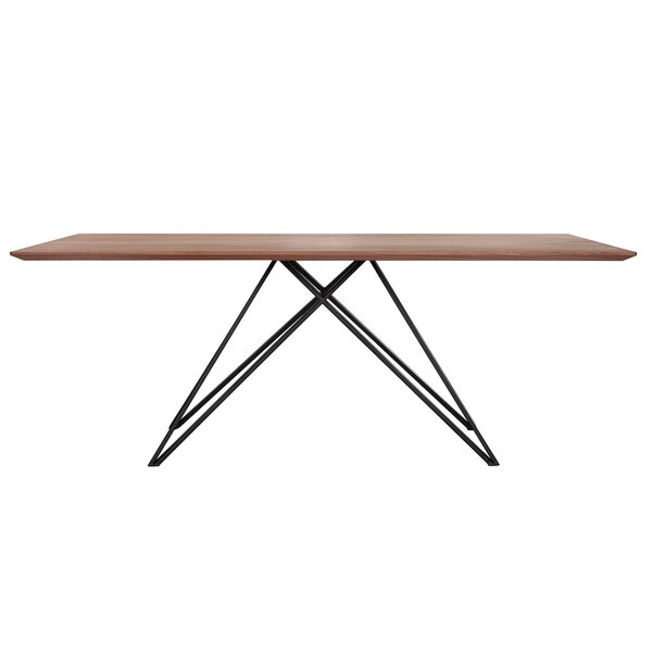 Amina Contemporary Dining Table by Orren Ellis