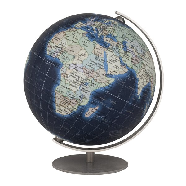 Mini Deep Blue Globe by Columbus Globe