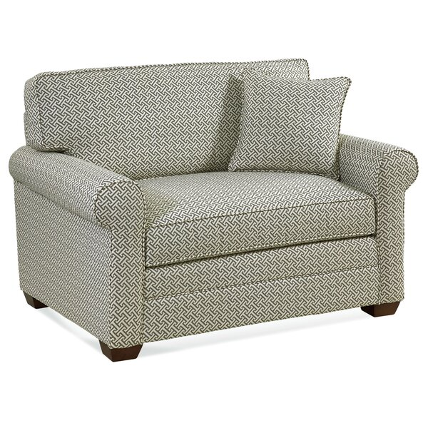 Beautiful Modern Bedford Sleeper Loveseat by Braxton Culler by Braxton Culler