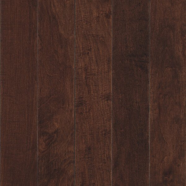 Randhurst Map SWF 3-1/4 Solid Oak Maple Hardwood Flooring in Bourbon by Mohawk Flooring