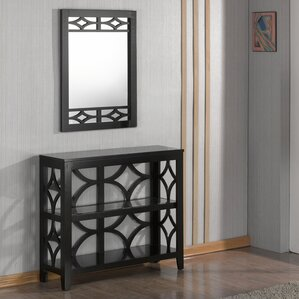 Demello Console Table and Mirror Set by Red Barrel Studio